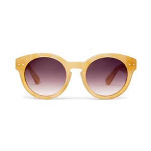 Beach Madewell Hep Cat Shades in Milky Apricot