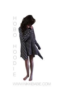 Hobo Hoodie Designed by Nikki Babie