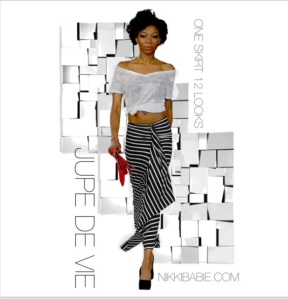 Nikki Babie's Jupe de Vie & Hides in Hand Red Clutch Purse