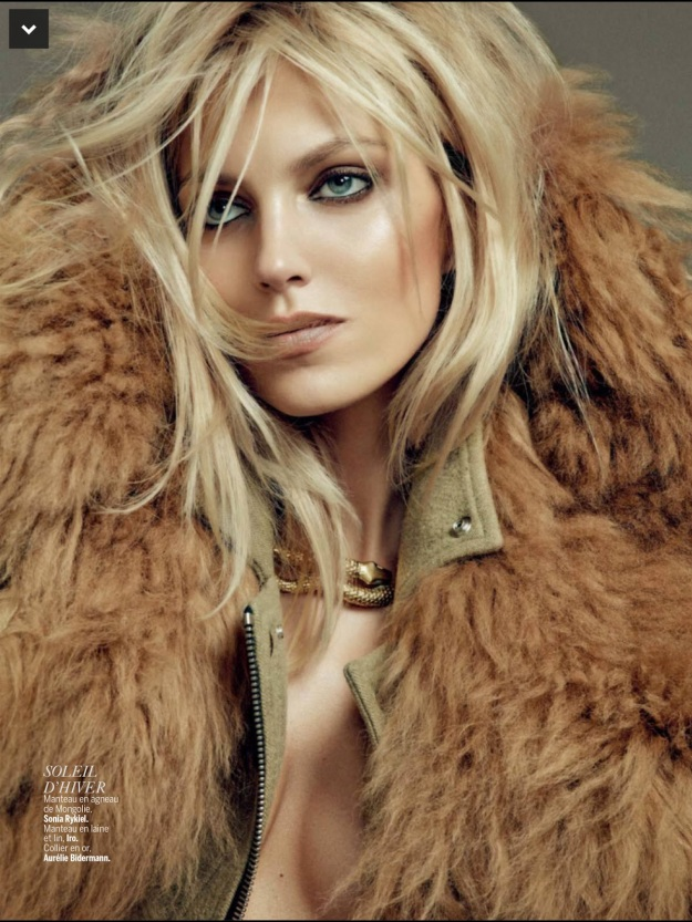 Anja Rubik for L'Express Styles September 2014